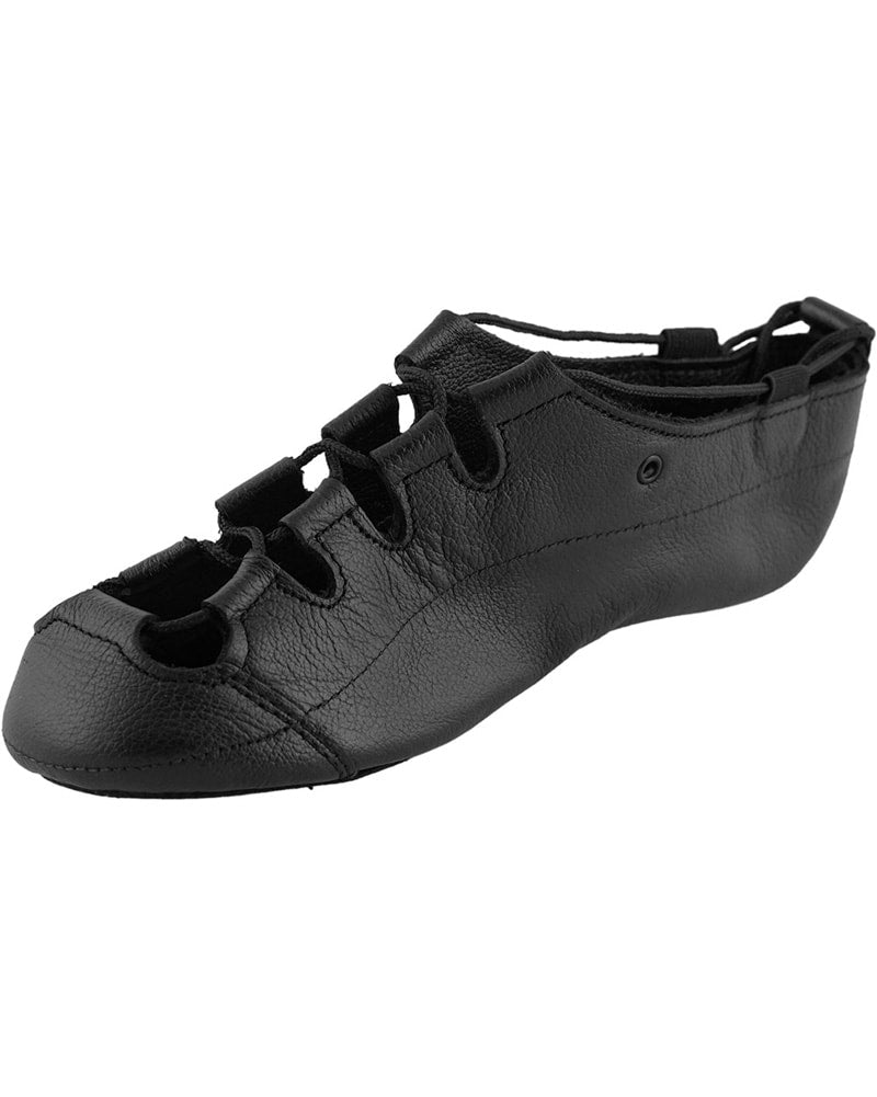 Inishfree Aoife Supple Leather Irish Pump Ghillies - Girls