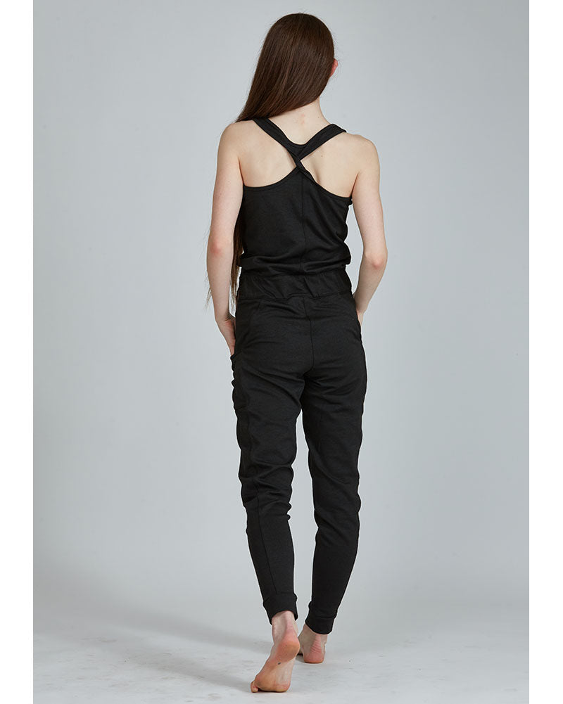 Jo+Jax Laid Back Romper - Womens - Black - Dancewear - Warmups - Dancewear Centre Canada