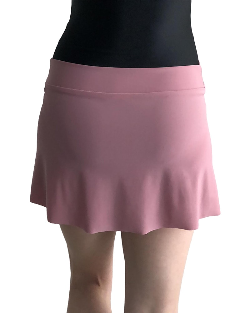 Jule Dancewear PS3 - Mock Wrap Petal Pull On Skirt Womens Rose
