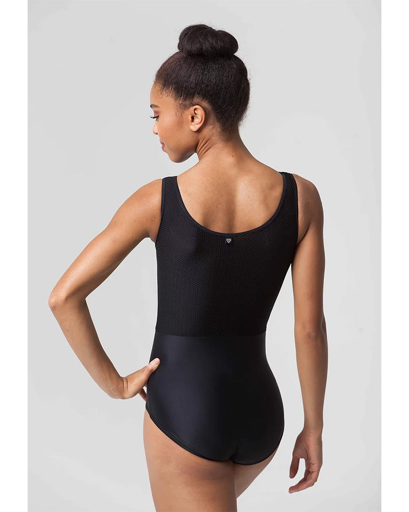 Jule Dancewear Royalette - Pop Mesh Contrast Tank Leotard Womens