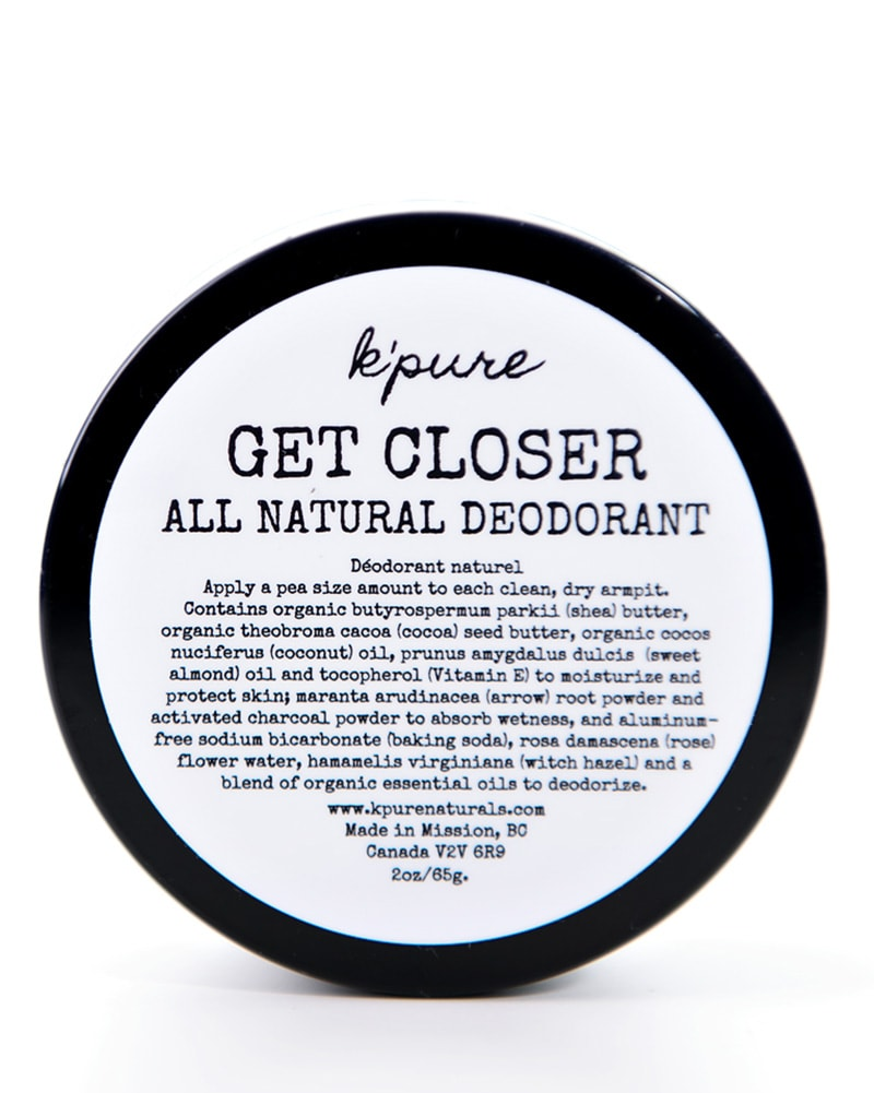 K'pure Naturals Get Closer All Natural Deodorant Original 2oz - Accessories - Body Care - Dancewear Centre Canada