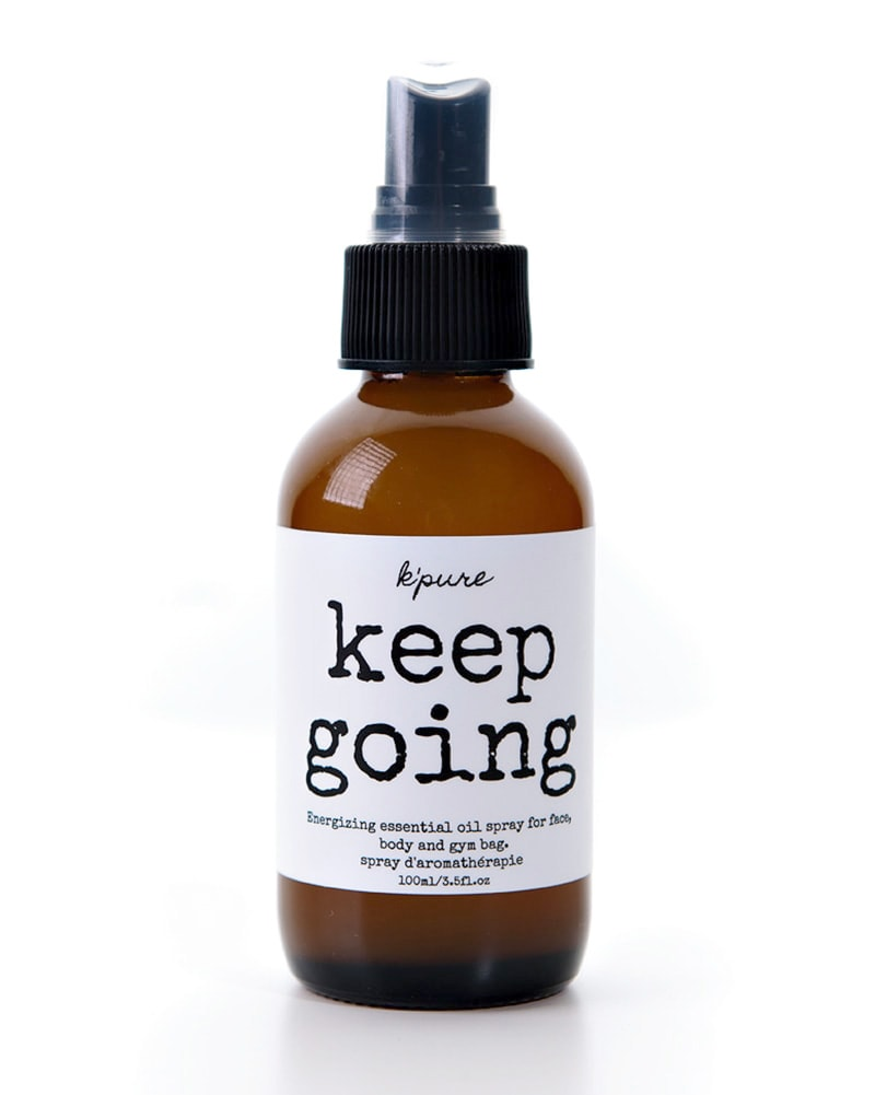 K'pure Naturals Keep Going Energizing Essential Oil Spray 30ml