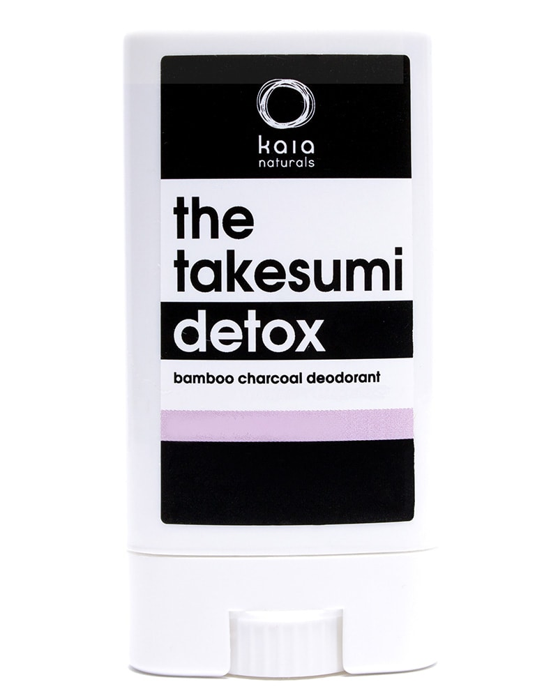 Kaia Naturals - The Takesumi Charcoal Detox Deodorant Cold Pressed Rose 12g