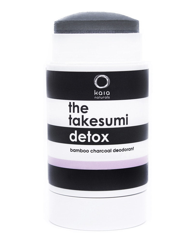 Kaia Naturals The Takesumi Charcoal Detox Deodorant Cold Pressed Rose 65g