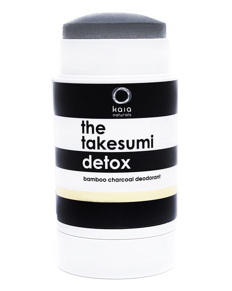 Kaia Naturals Takesumi Natural Charcoal Detox Deodorant Juicy Bamboo 65g