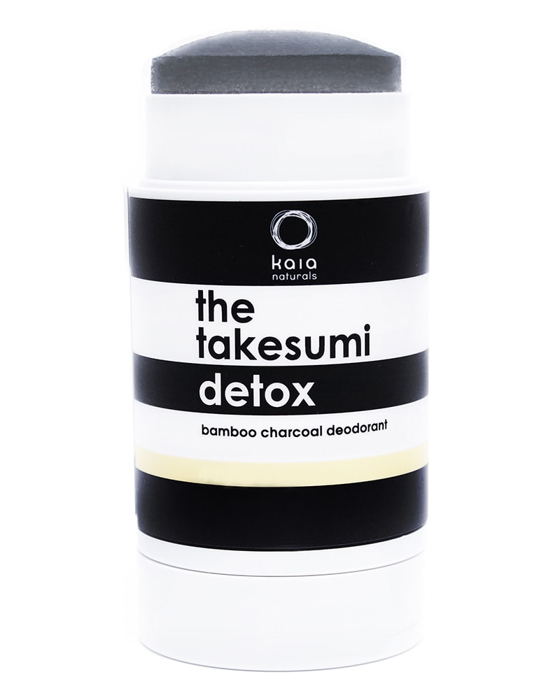 Kaia Naturals - The Takesumi Charcoal Detox Deodorant Juicy Bamboo 65g