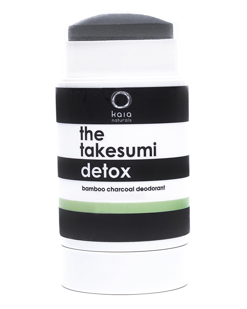 Kaia Naturals - The Takesumi Charcoal Detox Deodorant Lime Mint 65g