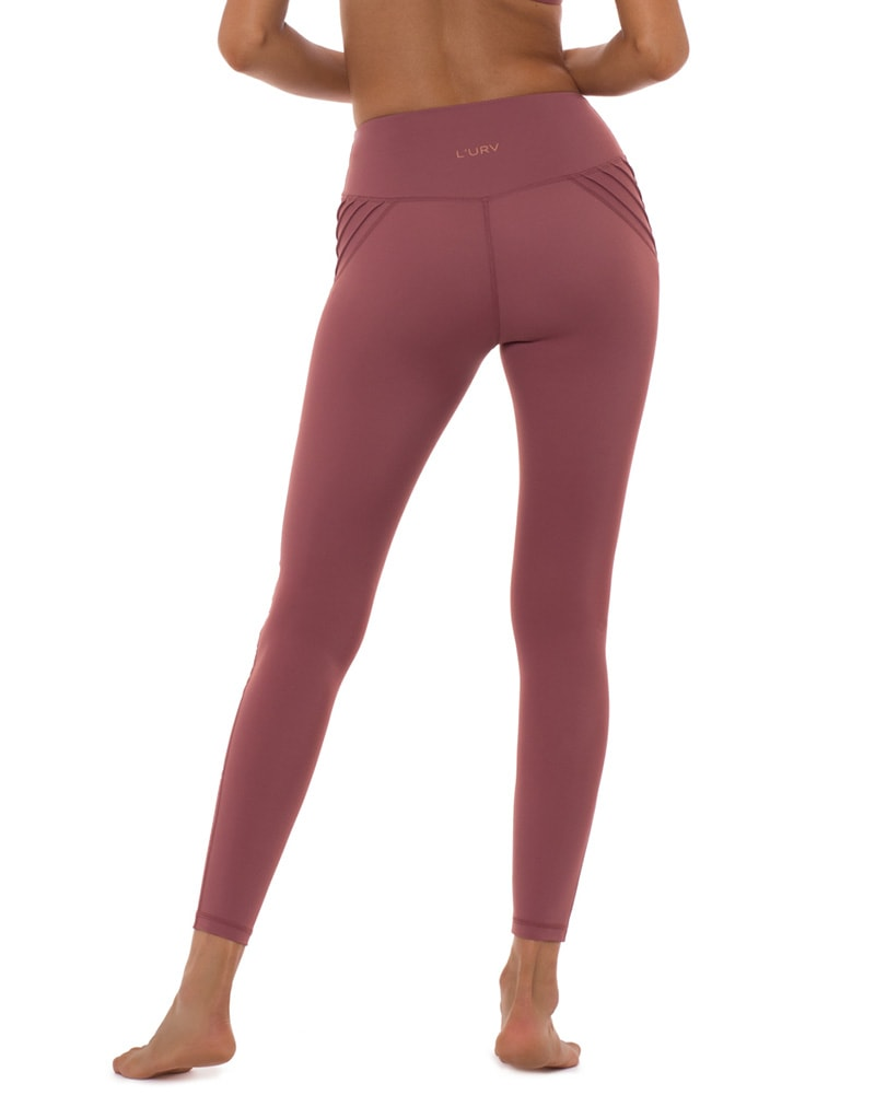 L'urv Above the Clouds Legging - Womens - Rose - Activewear - Bottoms - Dancewear Centre Canada