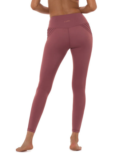 L'urv - Above the Clouds Legging Rose Womens - Activewear - Bottoms - Dancewear Centre Canada