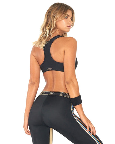 L'urv - Back To Basics Crop Top Black Womens - Activewear - Tops - Dancewear Centre Canada