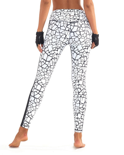 L'urv - Work it Out Legging White Womens - Activewear - Bottoms - Dancewear Centre Canada