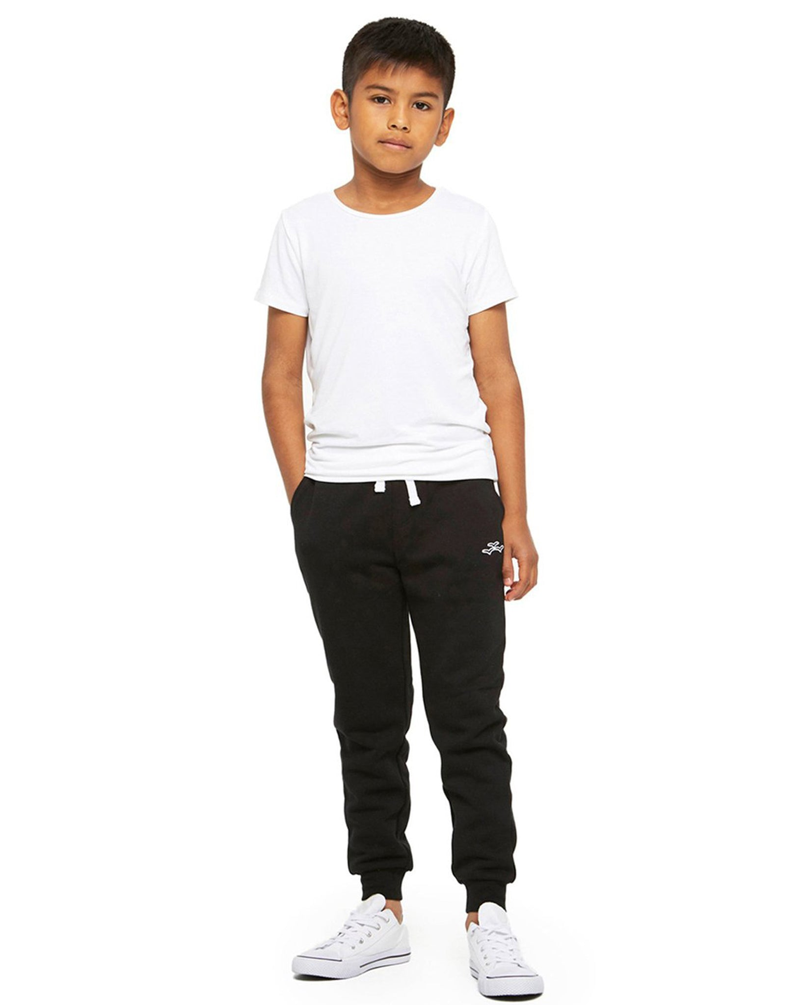 Lazypants Charlie Slim Jogger Sweatpants - Girls/Boys - Black - Activewear - Bottoms - Dancewear Centre Canada