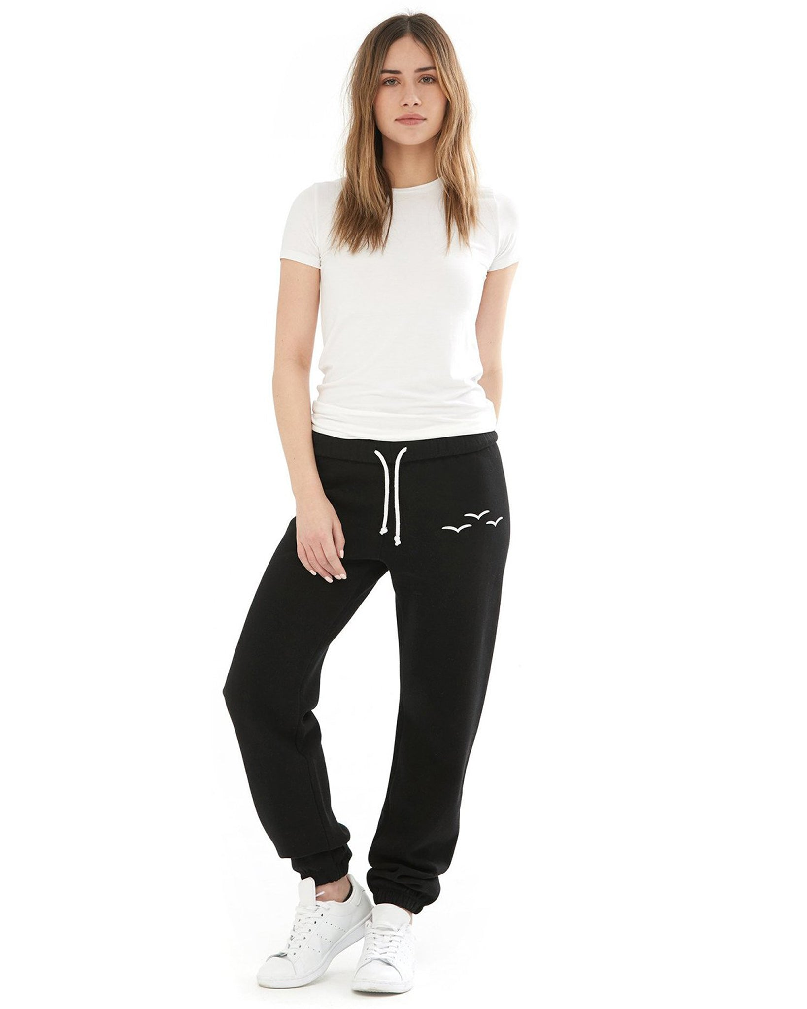Lazypants Niki Fleece Sweatpants - Girls/Boys - Black - Activewear - Bottoms - Dancewear Centre Canada