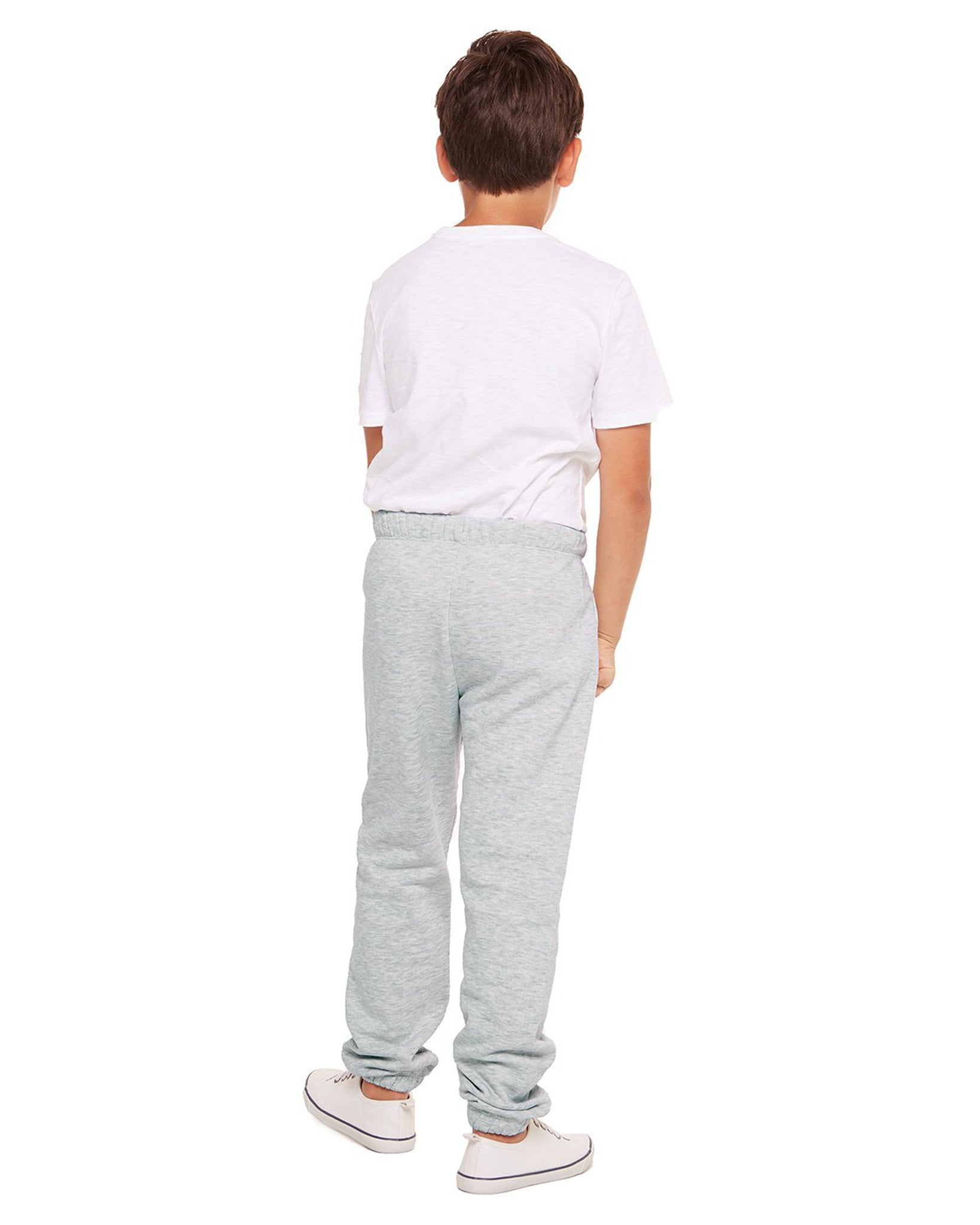 Lazypants Niki Fleece Sweatpants - Girls/Boys - Classic Grey - Activewear - Bottoms - Dancewear Centre Canada