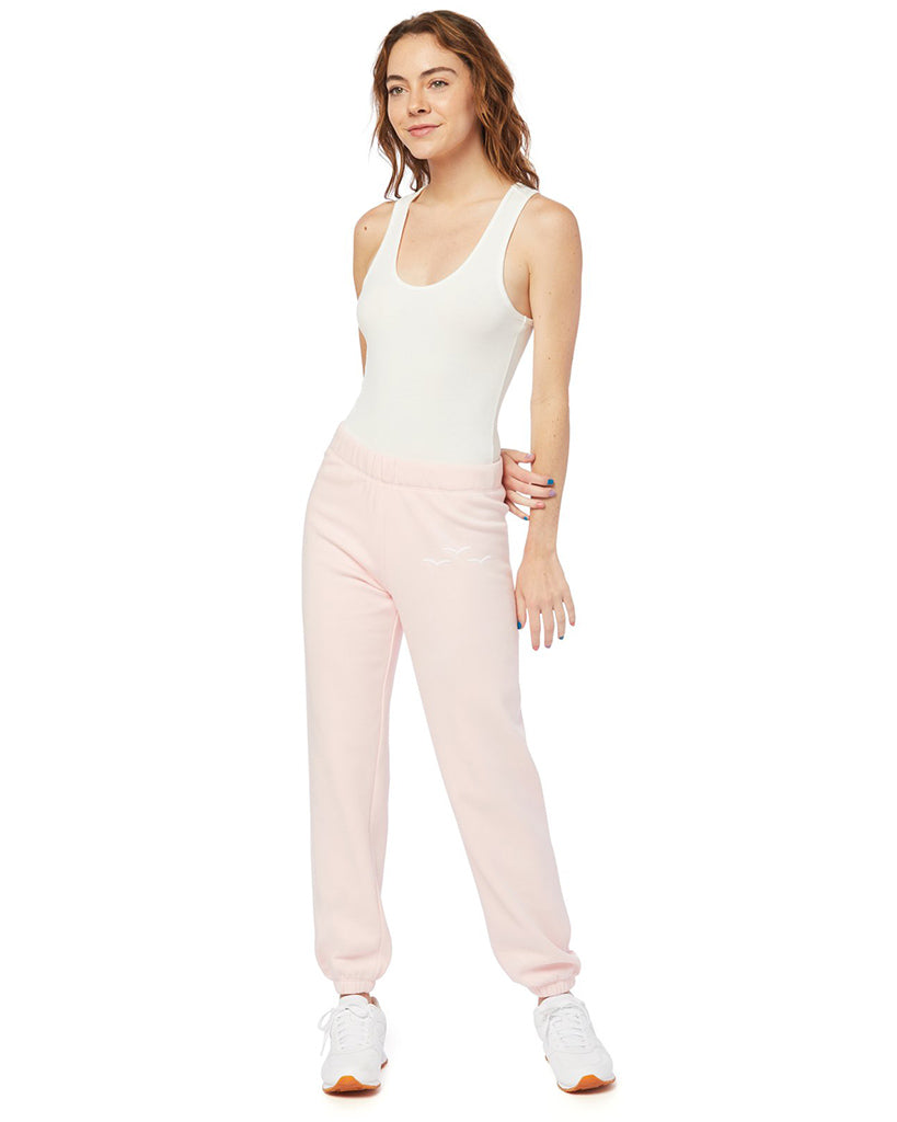 Lazypants Niki Ultra Soft Fleece Sweatpants  - Womens -  Baby Pink - Activewear - Bottoms - Dancewear Centre Canada