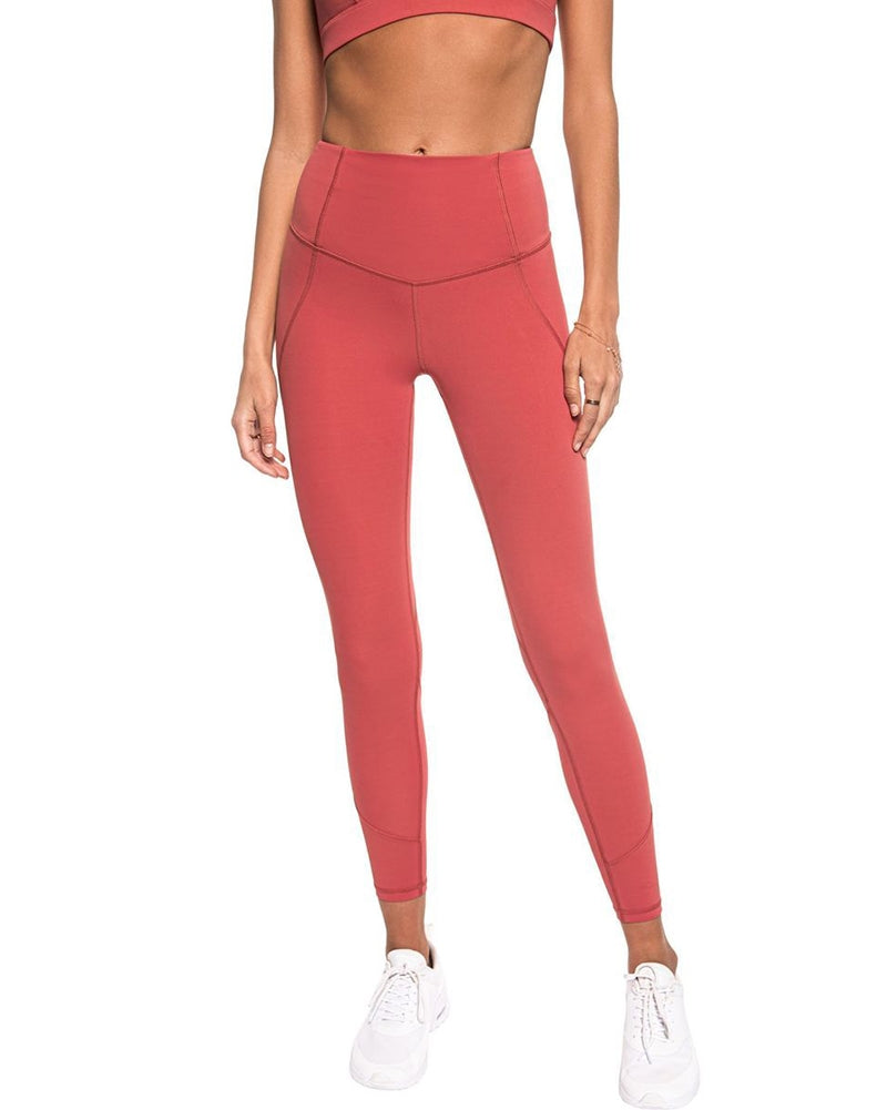 Lilybod Willow High Waist Seaming Legging  - Womens - Mineral Dust - Activewear - Bottoms - Dancewear Centre Canada
