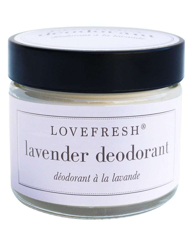 Lovefresh Jar Natural Deodorant - Lavender 60 ml