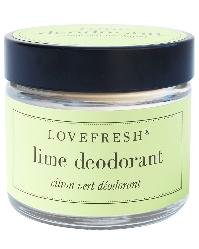 Lovefresh Jar Natural Deodorant - Lime 60 ml - Accessories - Body Care - Dancewear Centre Canada