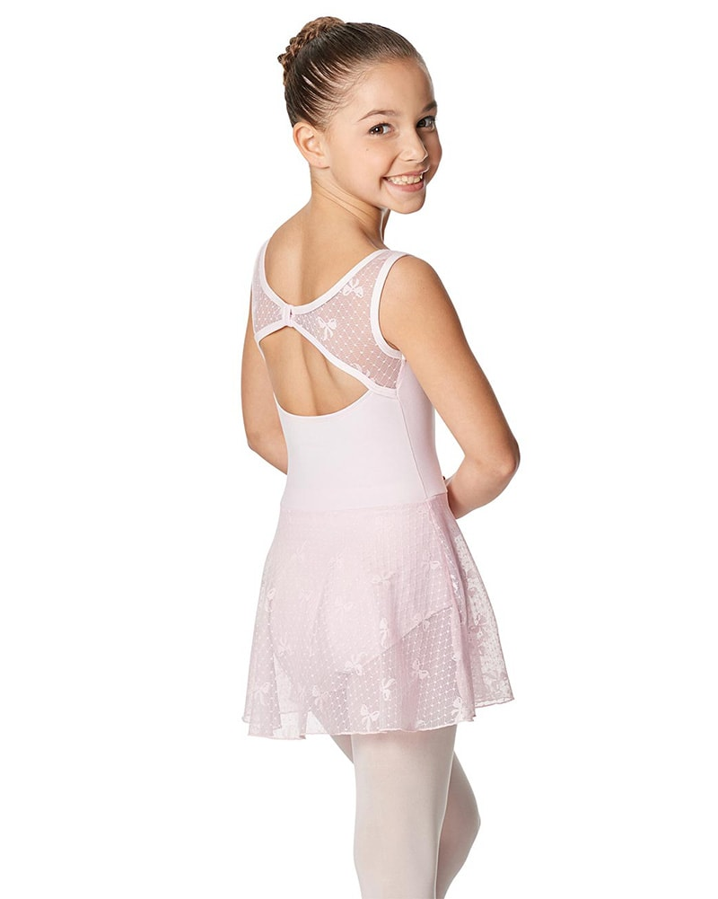 Lulli Dancewear Rosalie Ribbon Mesh Ballet Dress - LUF477C Girls