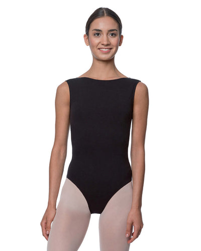 Lulli Dancewear Sabina High Neck Cotton Tank Leotard - LUB213 Womens - Dancewear - Bodysuits & Leotards - Dancewear Centre Canada