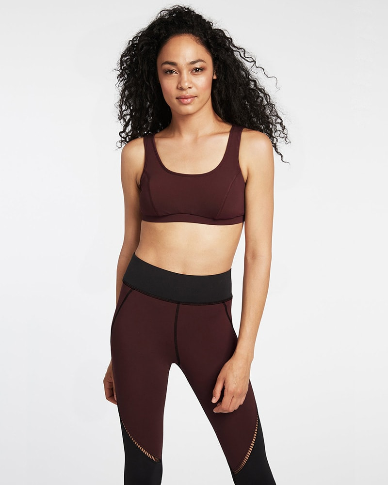 Michi Basal Bra - Womens - Mulberry - Activewear - Tops - Dancewear Centre Canada