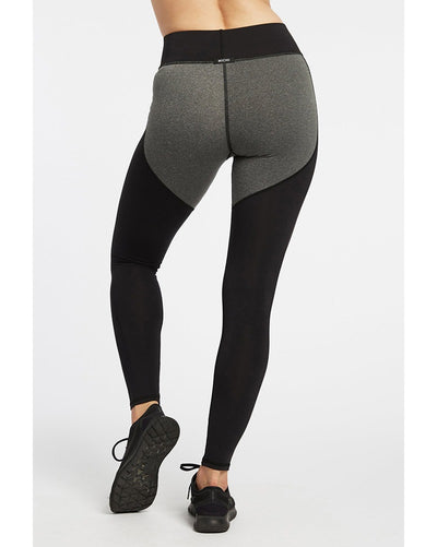 Michi - Cadence Legging Grey/Black Womens - Activewear - Bottoms - Dancewear Centre Canada