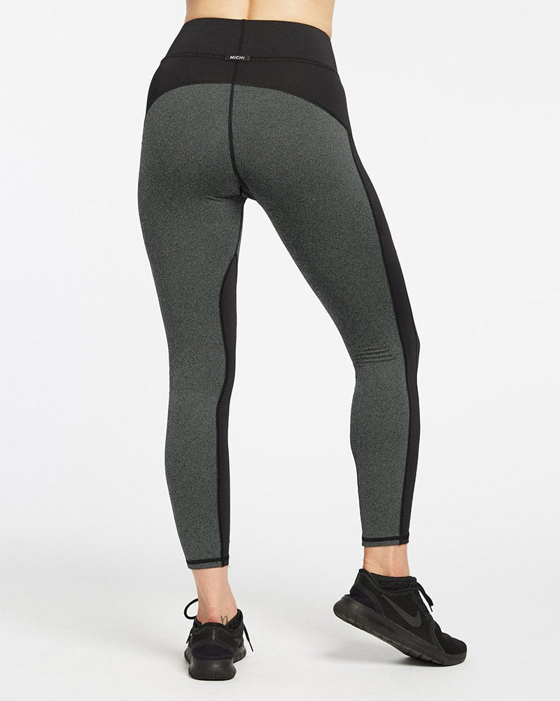 Michi - Extension Legging Grey/Black Womens