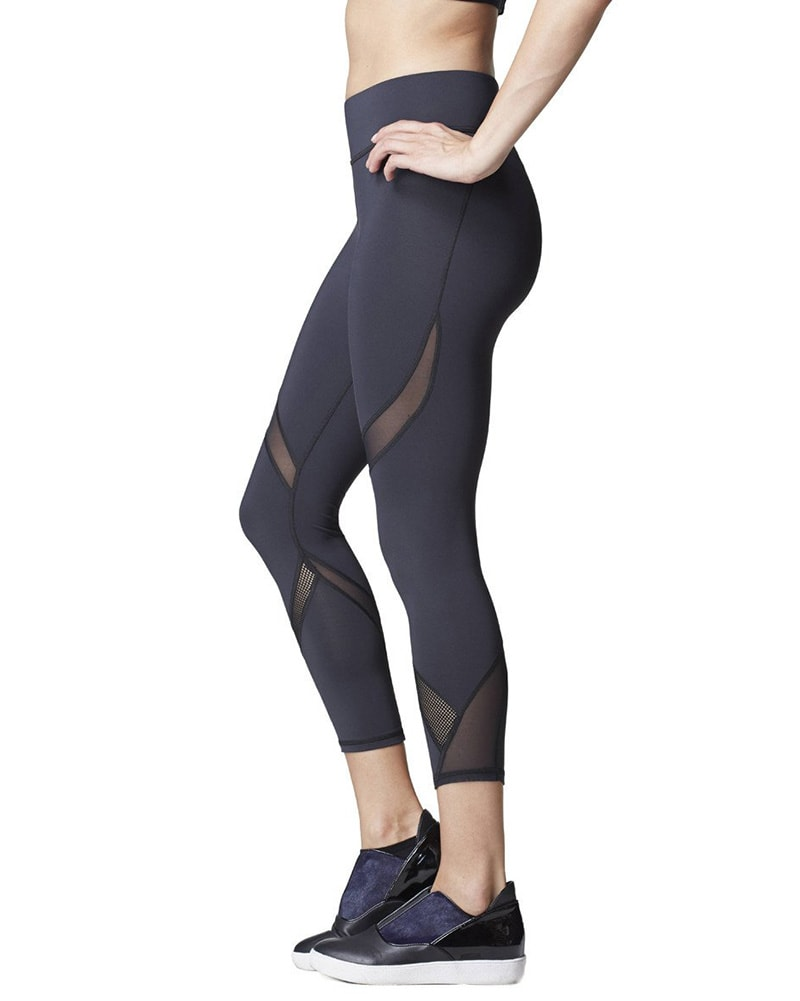 Michi Hydra Crop Legging - Womens - Black