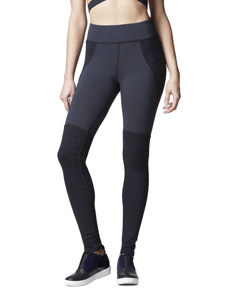 Michi Shadow Legging - Womens - Black