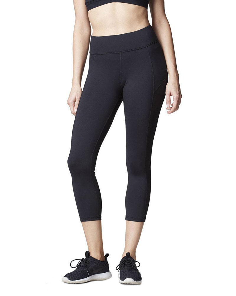 Michi Stardust Crop Legging - Womens - Black