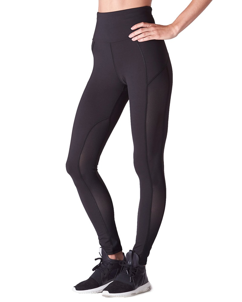 Michi Summit High Waisted Legging - Womens - Black - Activewear - Bottoms - Dancewear Centre Canada