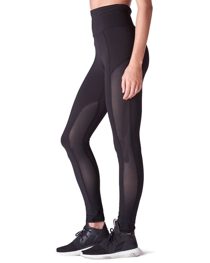 Michi Summit High Waisted Legging - Womens - Black