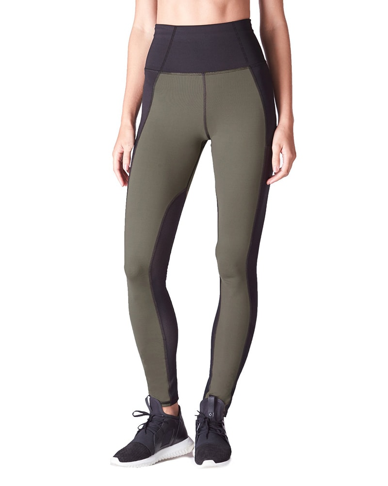 8bb0343096fe2 Michi - Summit High Waisted Legging Olive Womens - Activewear - Bottoms -  Dancewear Centre Canada