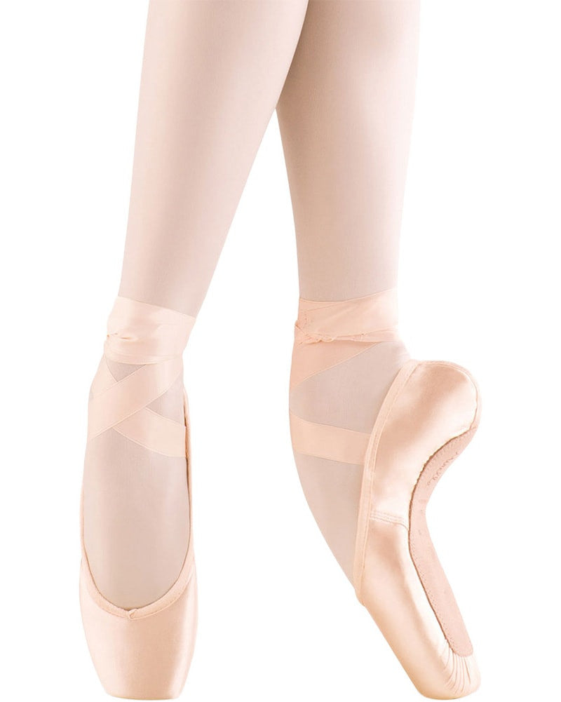 Mirella MS101A - Advanced Medium Shank Pointe Shoes Womens - Dance Shoes - Pointe Shoes - Dancewear Centre Canada