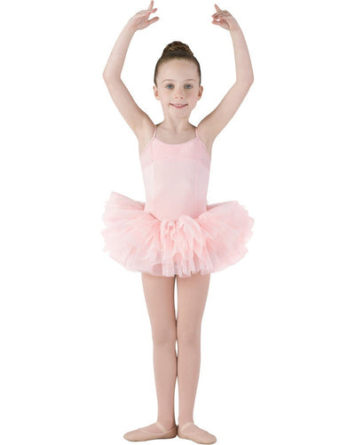 Mirella Sparkle Tutu Camisole Ballet Dress - M222C Girls - Dancewear - Dresses - Dancewear Centre Canada