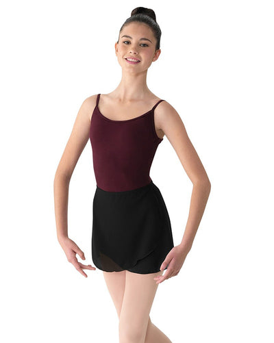 Mirella MS12 - Mock Wrap Pull-On Ballet Skirt Womens - Dancewear - Skirts - Dancewear Centre Canada