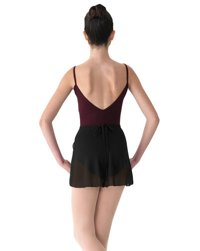 Mirella Mock Wrap Pull-On Ballet Skirt - MS12 Womens - Dancewear - Skirts - Dancewear Centre Canada