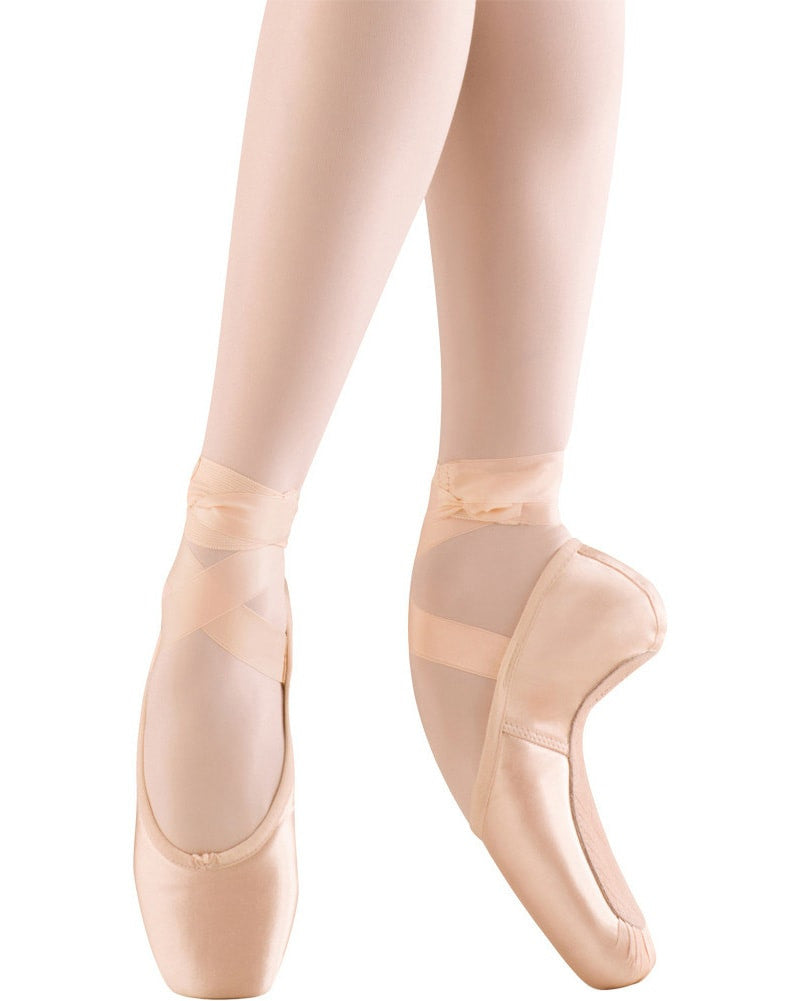 Mirella Whisper Lightweight Pointe Shoes - Medium Shank - MS140 Womens - Dance Shoes - Pointe Shoes - Dancewear Centre Canada