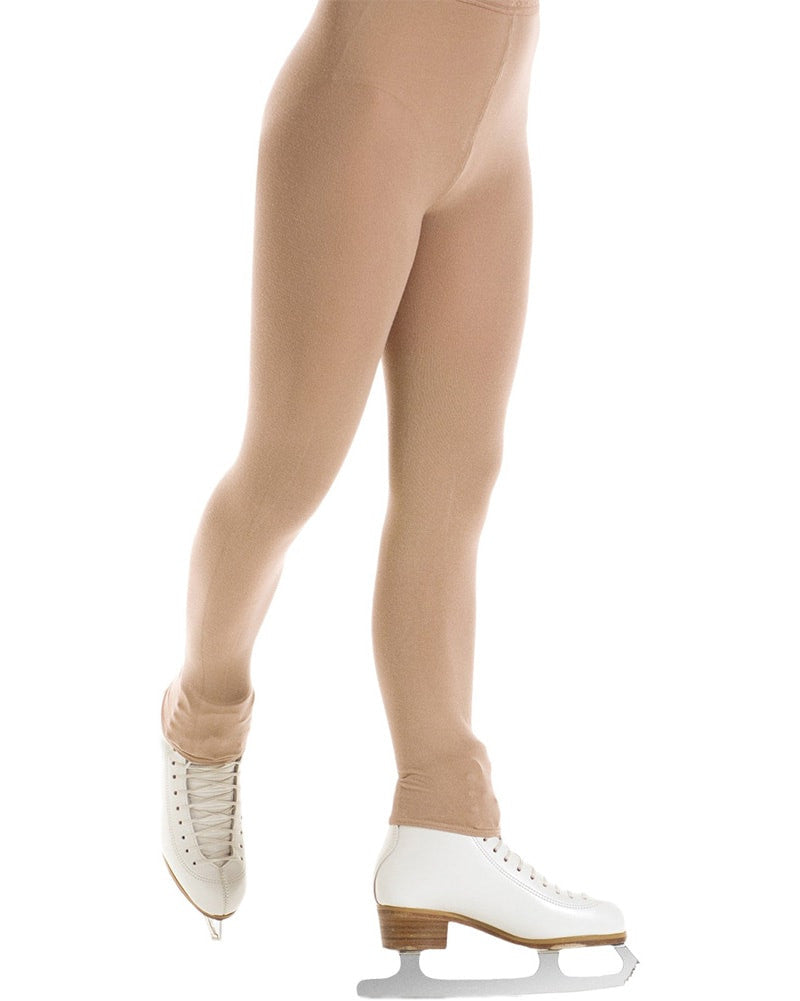 Mondor 3393 - Naturals Ultra Opaque Footless Skating Tights Womens - Dance Tights - Skating Tights - Dancewear Centre Canada