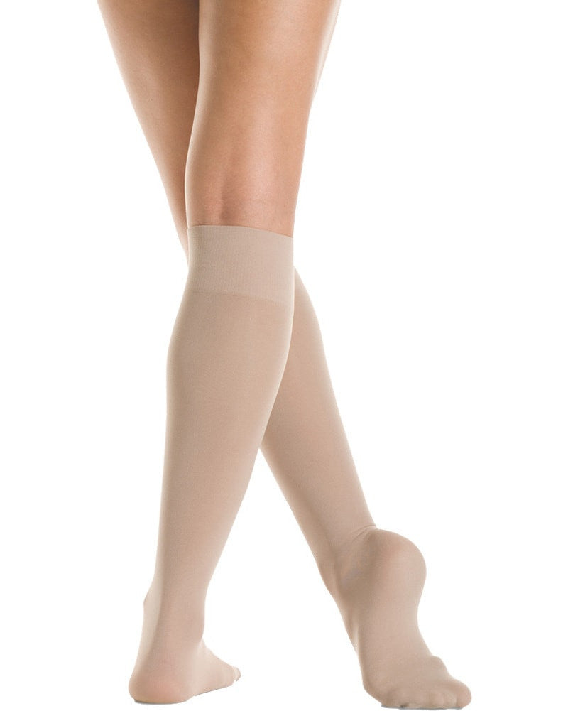 Mondor Microfibre Knee High Dance Socks - 104 Womens - Dancewear - Socks - Dancewear Centre Canada