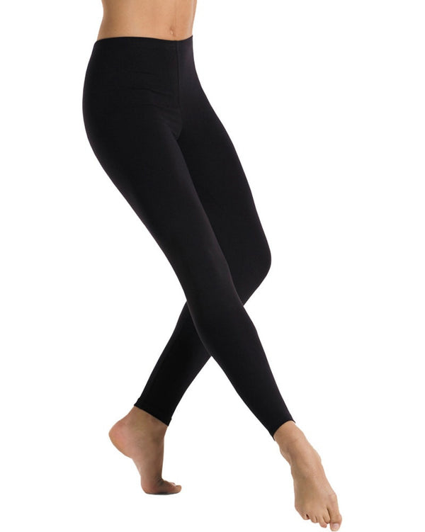 Mondor 11641 - Cotton Stretch Dance Leggings Womens - Dancewear - Dance Pants - Dancewear Centre Canada
