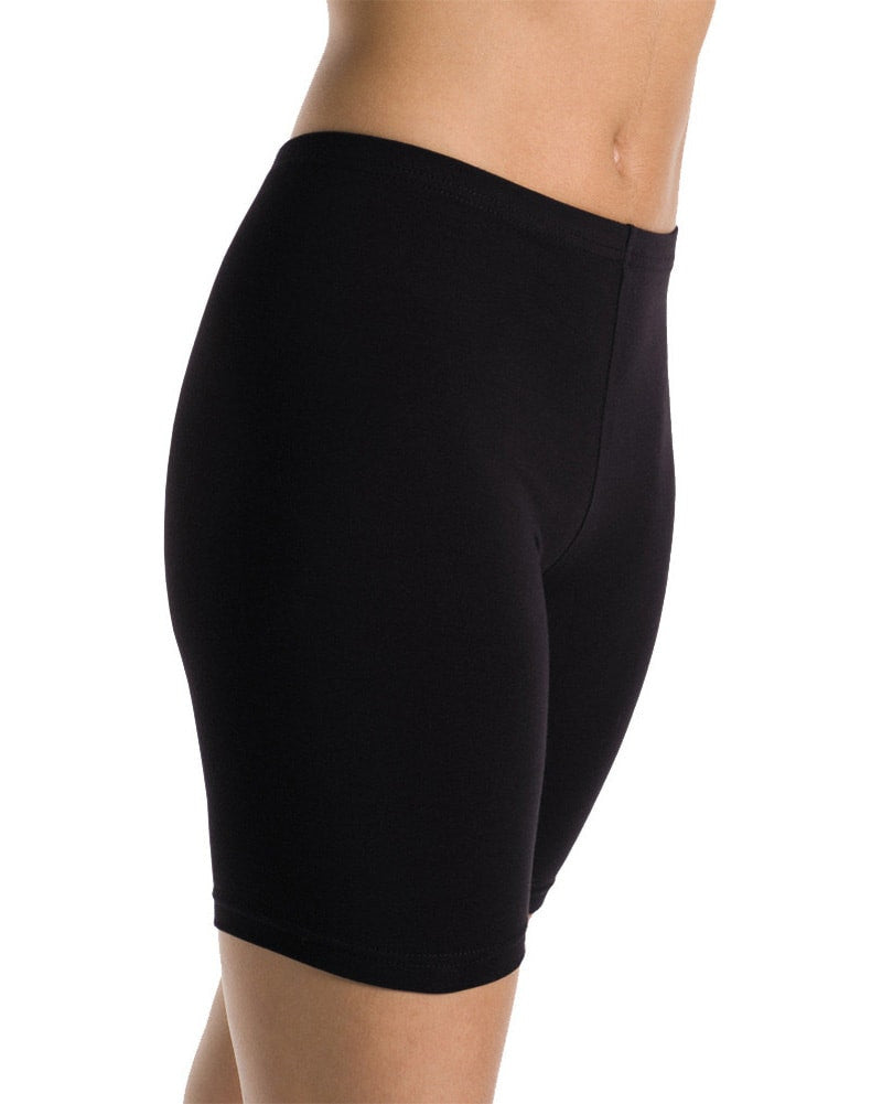Mondor Long Cotton Dance Bike Shorts - 11649C Girls - Dancewear - Bottoms - Dancewear Centre Canada