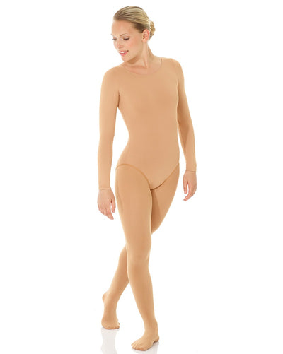 Mondor Body Liner Undergarment Long Sleeve Leotard - 11811C Girls - Dancewear - Undergarments - Dancewear Centre Canada