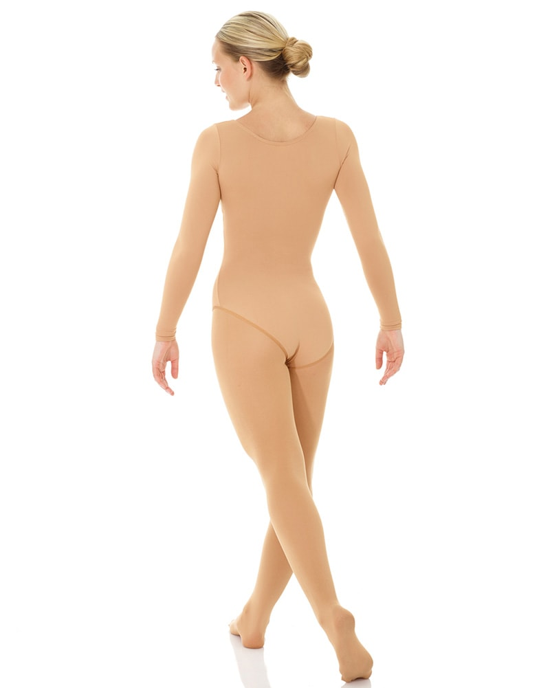 Mondor Body Liner Undergarment Long Sleeve Leotard - 11811C Girls