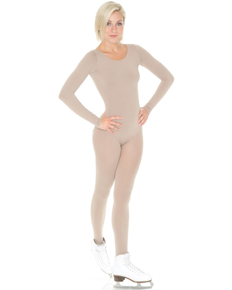Mondor Body Liner Undergarment Long Sleeve Leotard - 11811 Womens