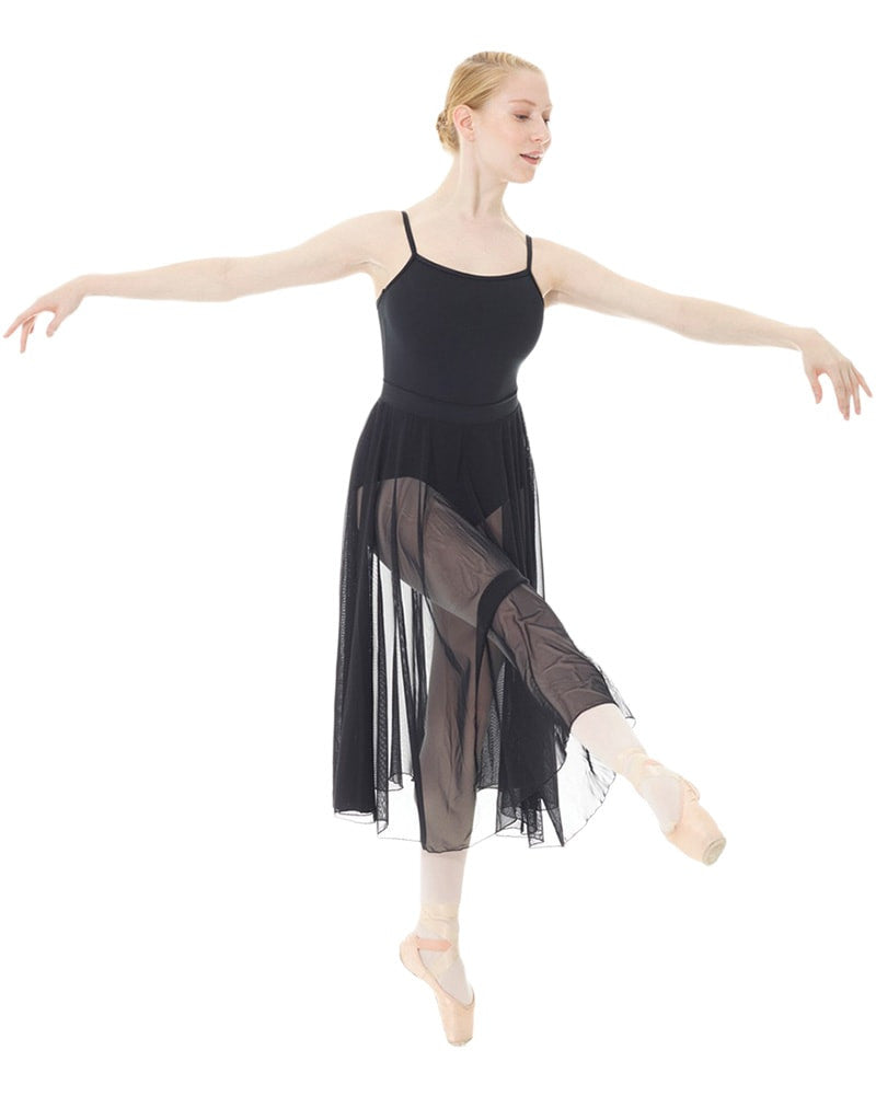 Mondor 16105 - Long Mesh RAD Pull-On Ballet Skirt Womens - Dancewear - Skirts - Dancewear Centre Canada