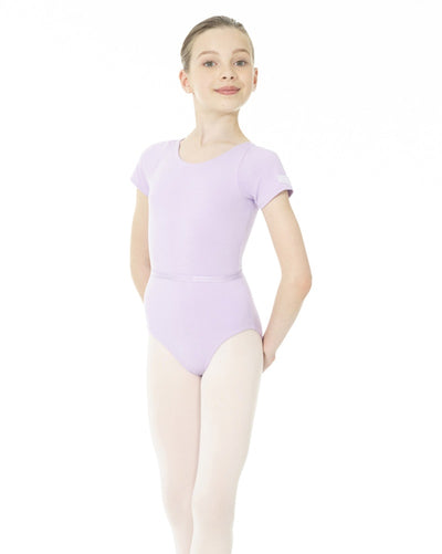Mondor 1635C - Academy RAD Short Sleeve Leotard Girls - Dancewear - Bodysuits & Leotards - Dancewear Centre Canada