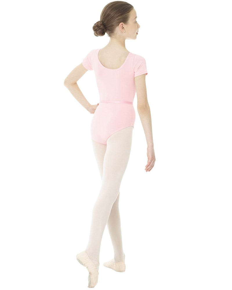 Mondor Academy RAD Short Sleeve Leotard - 1635C Girls - Dancewear - Bodysuits & Leotards - Dancewear Centre Canada