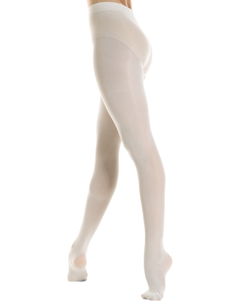 Mondor Microfibre Performance Footed Dance Tights - 310C Girls - Dance Tights - Footed Tights - Dancewear Centre Canada