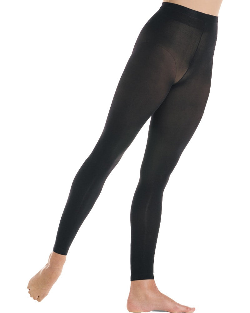 Mondor Microfibre Ultra Soft Footless Dance Tights - 318C Girls - Dance Tights - Footless Tights - Dancewear Centre Canada